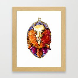 Autumn God Framed Art Print