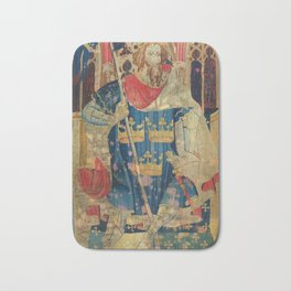 King Arthur Medieval Tapestry Bath Mat