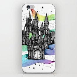 Super Magic Rainbow Dream Castle iPhone Skin