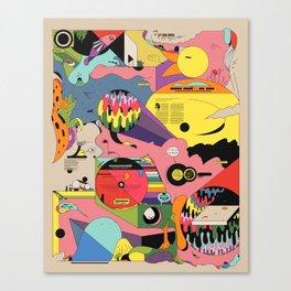 Climate Jazz Canvas Print