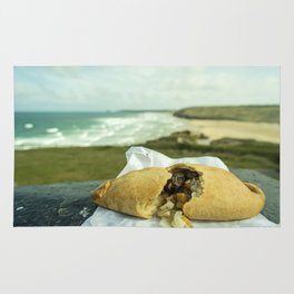 Perranporth Pasty  Rug