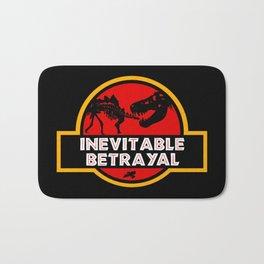 Jurassic Betrayal Bath Mat