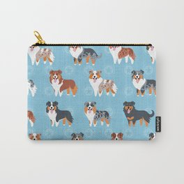 Aussie Shepherds Carry-All Pouch