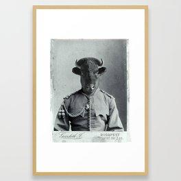 Gen. Bison Framed Art Print