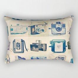 Vintage Camera Collection Rectangular Pillow