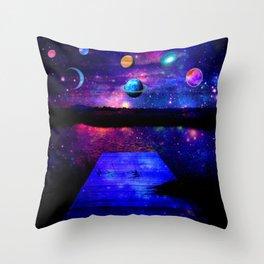 Universe Throw Pillow