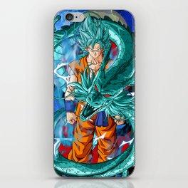 Dragon Ball Super Goku Super Saiyan Blue iPhone Skin