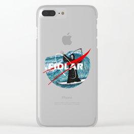 NASA FIDLAR LOGO Clear iPhone Case