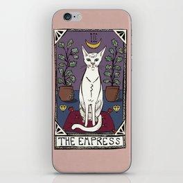 The Empress Tarot Cat iPhone Skin