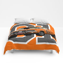 General Lee Dodge Charger Comforters