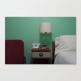 Holiday Music Motel 124 Canvas Print