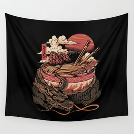 Dragon's Ramen Wall Tapestry