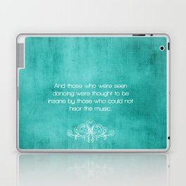 quoted  Laptop & iPad Skin