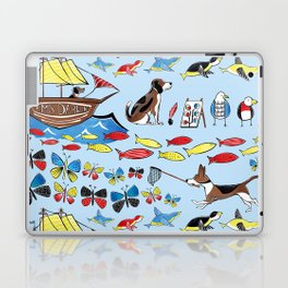 The Voyage of the Beagle Laptop & iPad Skin