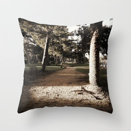 Hidden Path Throw Pillow