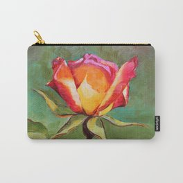 """Lonely Rose #1"" Carry-All Pouch"