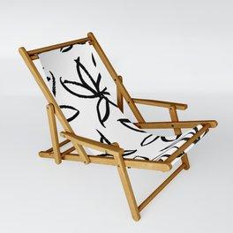 Big Floral Sling Chair
