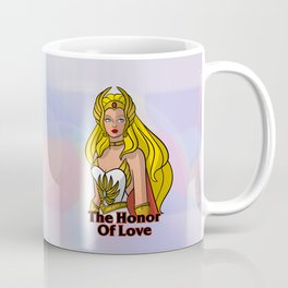 "Princess of Power She-Ra ""Honor of Love"" Coffee Mug"