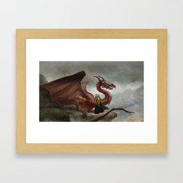 Dragon King Framed Art Print