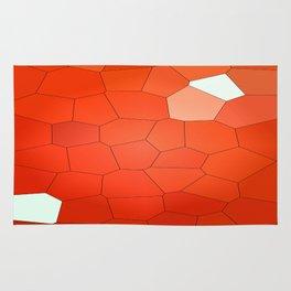 Red Abstract Animal. Rug