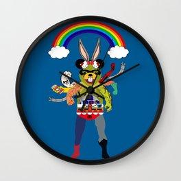 Cartoon Creature  Wall Clock