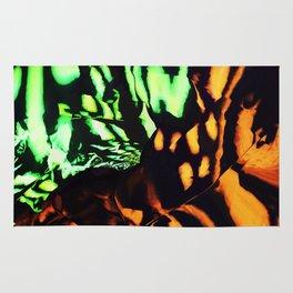 Neon animal skin Rug