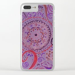 mandala Clear iPhone Case