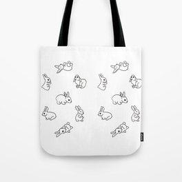 Bunny Pattern 01 Tote Bag