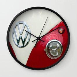 T2 Split Screen Dub Wall Clock