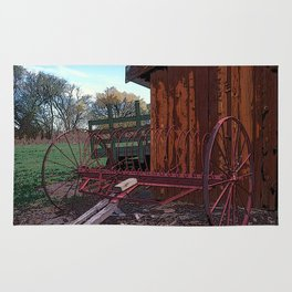 Farm Machinery Rug