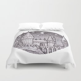 School of Witchcraft and Wizardry Duvet Cover