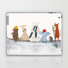 little big surfboard Laptop & iPad Skin