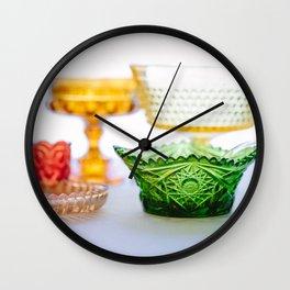 Rainbow Hostess Wall Clock