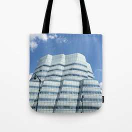 My house in the sky Tote Bag
