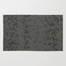 Chain Mail Texture Rug