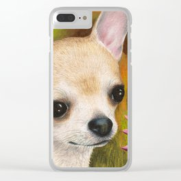 Chihuahua Dog Clear iPhone Case