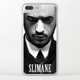 Portrait of Slimane Clear iPhone Case