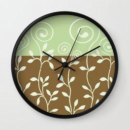 VINERI | brown sage Wall Clock