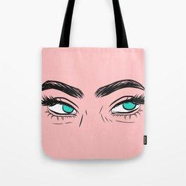 Unamused eyes Tote Bag