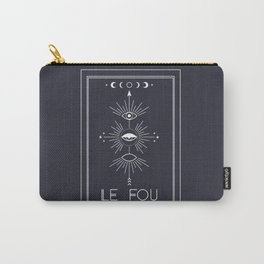 Le Fou or The Fool Tarot Carry-All Pouch