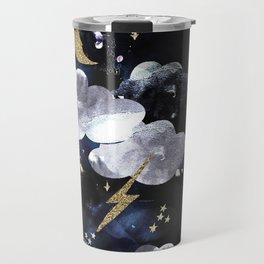Cosmic lightning Travel Mug