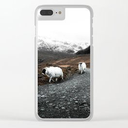 Ram Crossing / Isle of Skye Clear iPhone Case
