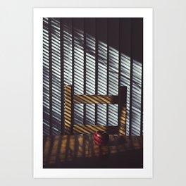 11 AM Art Print
