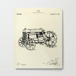 Tractor-1919 Metal Print