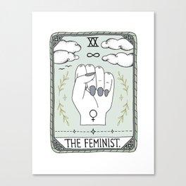The Feminist Canvas Print