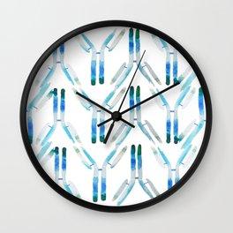 IgG Antibody, Science Art Wall Clock