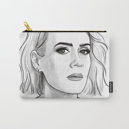 Sarah Paulson pencil portrait Carry-All Pouch