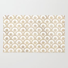 Japanese Paper Waves Rug