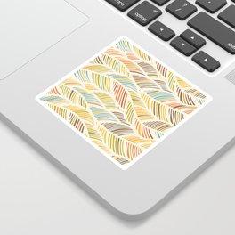 Fine Feather Pattern Sticker