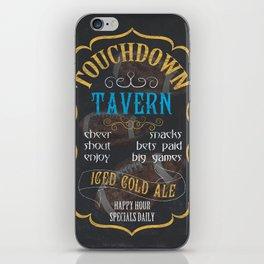 Touchdown Tavern iPhone Skin